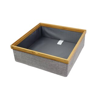 Superb Twill Stackable Closet Storage Tray