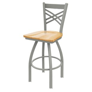 Daniela 25 Swivel Bar Stool Alcott Hill