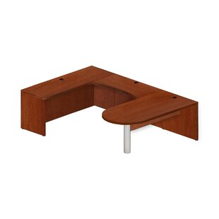 Aberdeen Series U-Shape Corner Desk by Mayline Group Herry Up