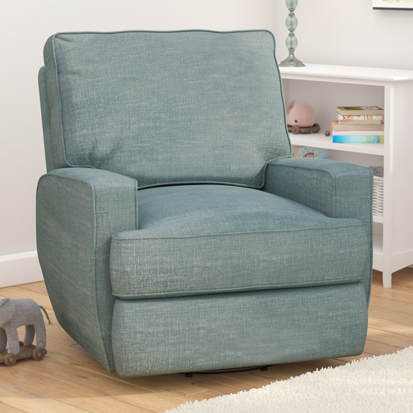 Viv + Rae Glenda Swivel Reclining Glider & Reviews | Wayfair