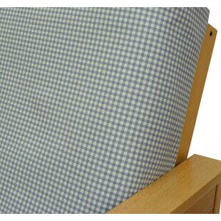 Dunsford Check Box Cushion Futon Slipcover