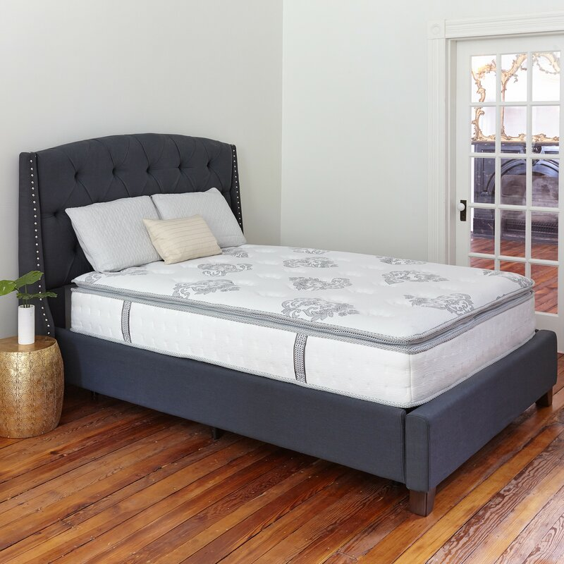 Classic Brands Mercer 12 Medium Hybrid Mattress Reviews Wayfair