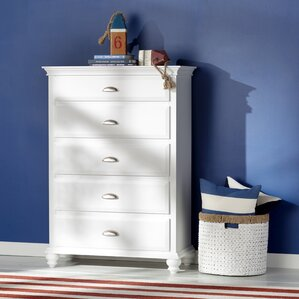 Neponset 5 Drawer Chest by Simmons Casegoods by Three Posts