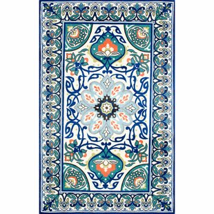 Kujawa Blue Area Rug