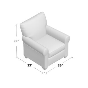 Accent Armchair by Overnight Sofa