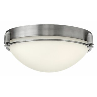 Hinkley Lighting Logan 3-Light Flush Mount
