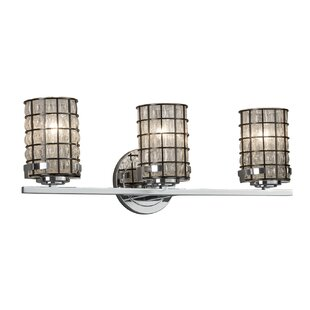 Inexpensive Demaio 3-Light LED Vanity Light By Williston Forge
