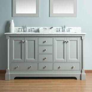 Rayleigh 60 Double Bathroom Vanity Set by Charlton Home