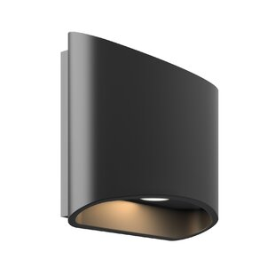 Orren Ellis Firestone Ellipse 2-Light LED Outdoor Sconce