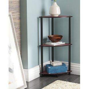 Baril Corner Unit Bookcase by Ebern Designs