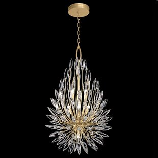 Fine Art Lamps Lily Buds 6-Light Crystal Chandelier