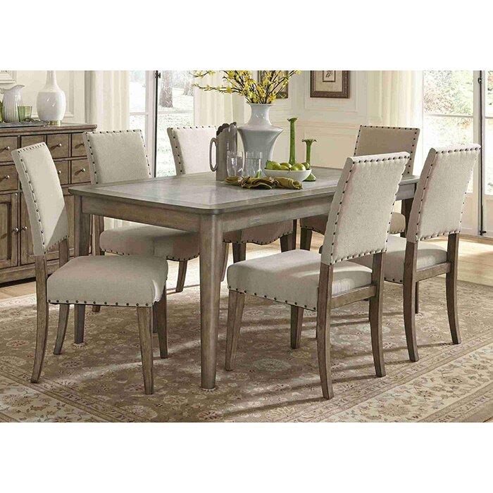 liberty furniture arlen 7 piece dining set & reviews | wayfair
