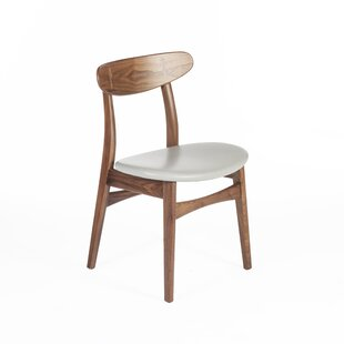 dCOR design The Colborn Genuine Leather Upholstered Dining Chair