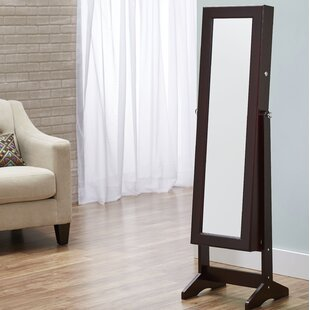 Compare Cheval Jewelry Armoire with Mirror By InnerSpace Luxury Products