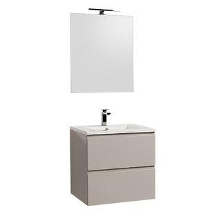 Gammon 600mm Wall Hung Single Vanity Unit By Ebern Designs