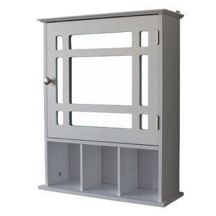 2363 W x 2515 H x 65 D Wall Mounted Bathroom Cabinet by Latitude Run