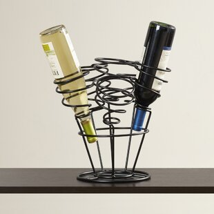 Carnation 6 Bottle Tabletop Wine Rack by ..