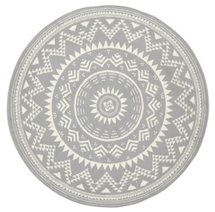 hanse home celebration valencia flatweave grey rug