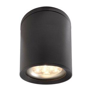 Tubor 1-Light LED Outdoor Flush Mount By Deko Light