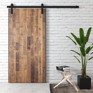 Alter Reclaimed Solid Wood Interior Barn Door & Reclaimed Wood Barn Door | Wayfair