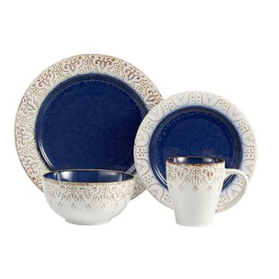 16-Piece Daphne Dinnerware Set  sc 1 st  Joss u0026 Main & Microwave Safe Dinnerware Sets u0026 Place Settings | Joss u0026 Main