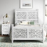Buena Park Sleigh Solid Wood 2 Piece Bedroom Set by Bungalow Rose