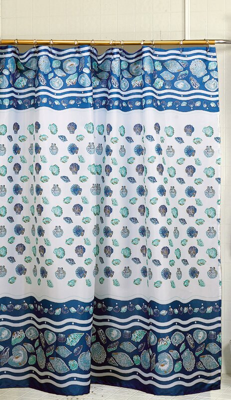 South Beach Shower Curtain from Wayfair!