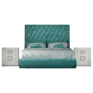 Kohan Panel 4 Piece Bedroom Set by Everly Quinn