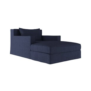 17 Stories Letendre Velvet Chaise Lounge