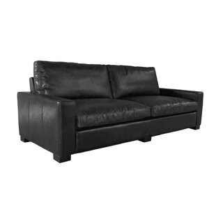 Find for Terrell Genuine Leather Sofa by 17 Stories Reviews (2019) & Buyer's Guide