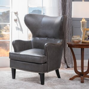 Kissell Wing back Chair by Red Barrel Studio
