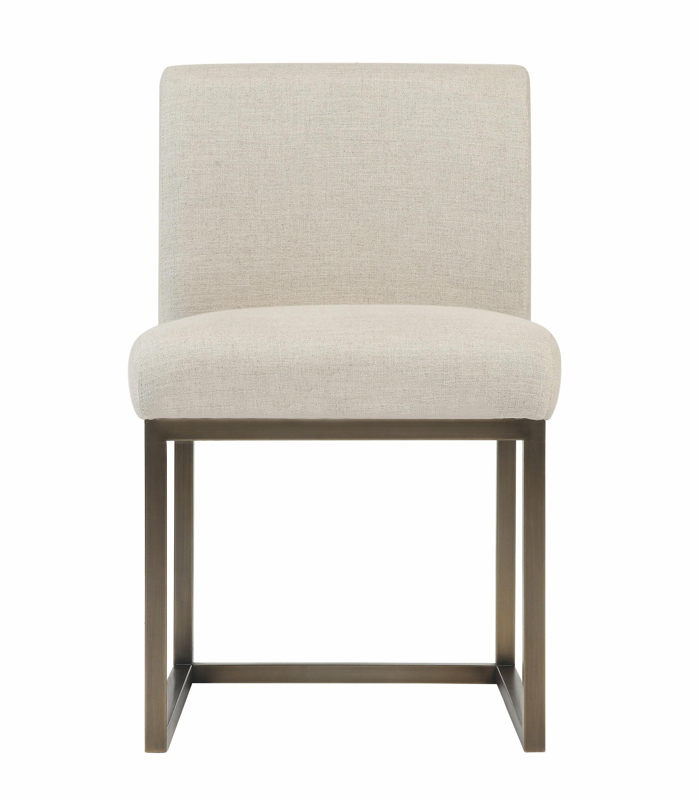 Allmodern Doherty Upholstered Dining Chair Reviews Wayfair