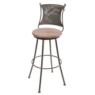 Chloris 25 Swivel Bar Stool Fleur De Lis Living