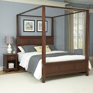 Borden Canopy 2 Piece Bedroom Set