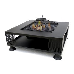 Entrada Metal Fire Pit Table