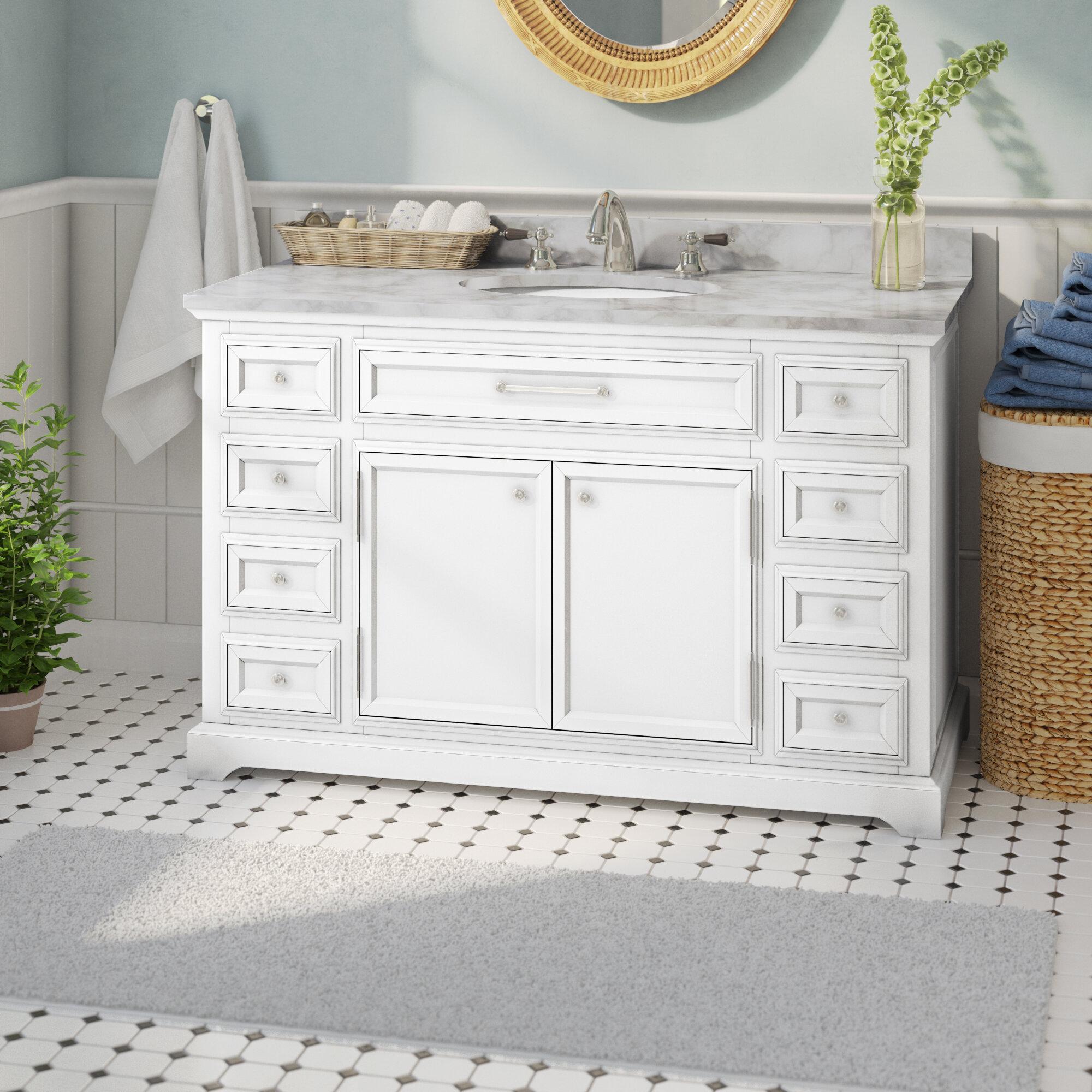 """Dovercourt 7"""" Single Bathroom Vanity Set"""
