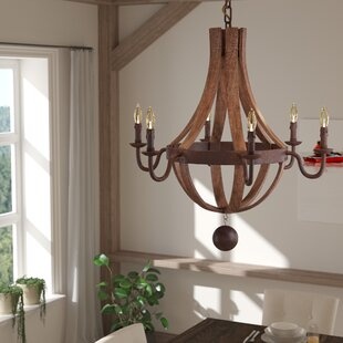 Jacobson 6-Light Empire Chandelier