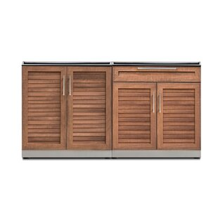 Kitchen 2 Piece Outdoor Bar Center Set By NewAge Products