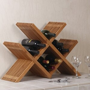 16 bottle tabletop wine rack - Wine Rack Table