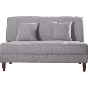 Dorsey Button Tufted Loveseat
