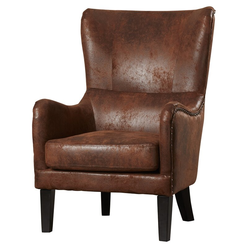 gordon high back wingback chair
