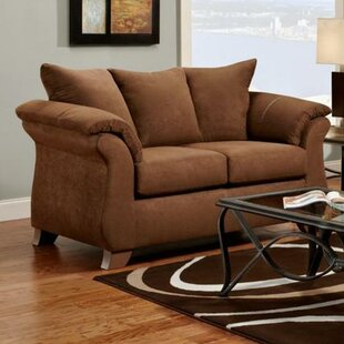 Shop Pfannenstiel Loveseat by Winston Porter
