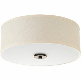 Three Posts Greenwell 1-Light LED Flush Mount