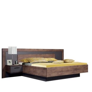 Fulford Queen Platform Bed with Mattress