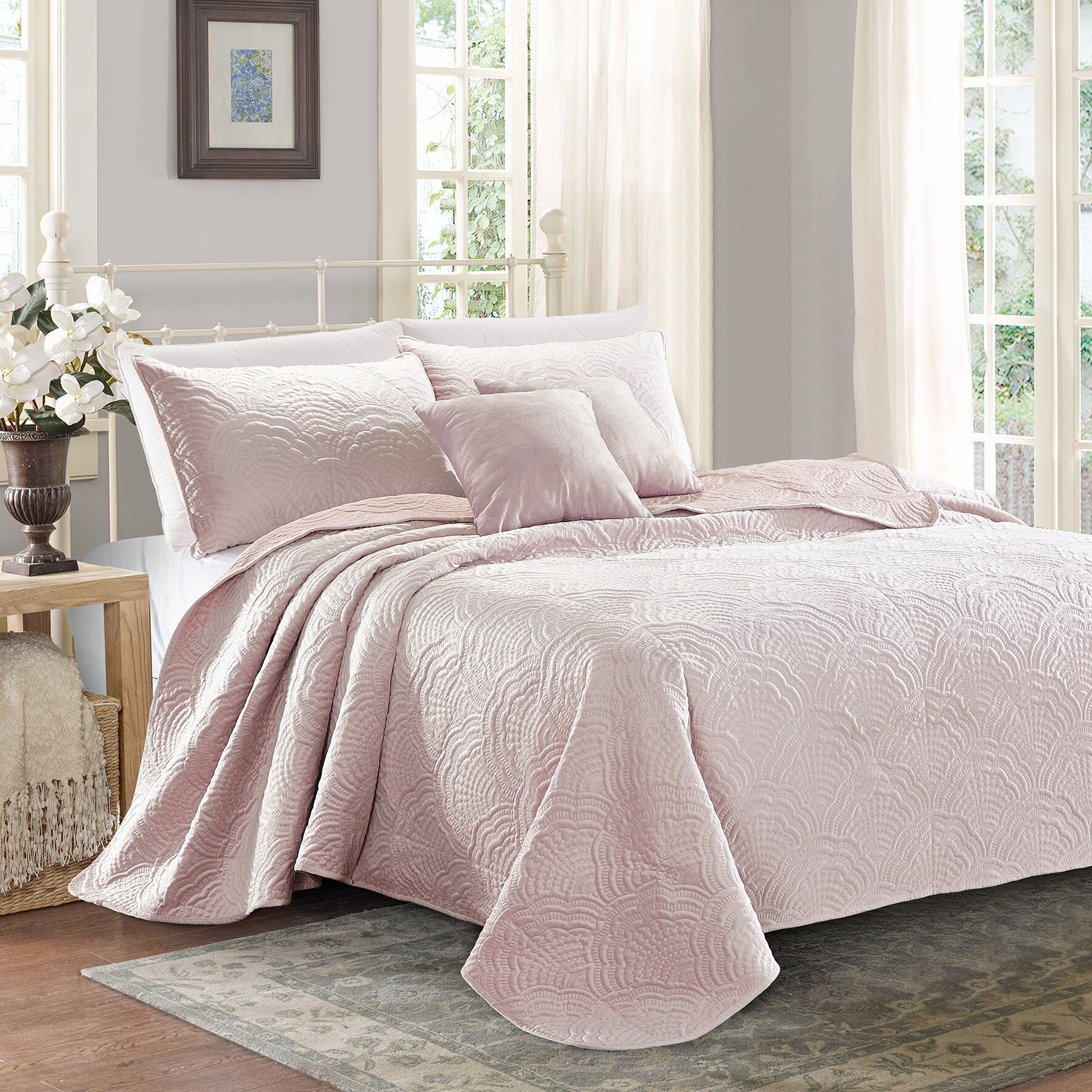Beachy Dry Clean Only Quilts Coverlets Sets You Ll Love In 2021 Wayfair