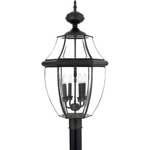 Three Posts Mellen Outdoor 4-Light Lantern Head