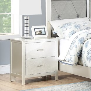 Wayman 2 Drawer Nightstand by House of Hampton