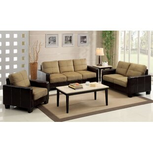 Price comparison Townsend Configurable Living Room Set by Hokku Designs Reviews (2019) & Buyer's Guide