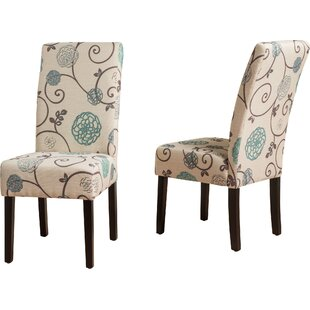 Ordinaire Back East Side Upholstered Dining Chair (Set Of 2)