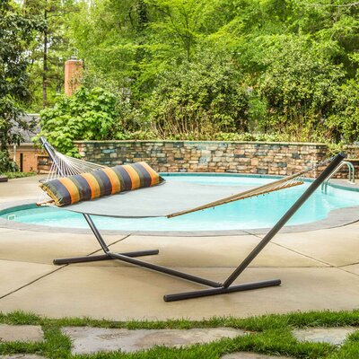 Mcburney Large Pool Side Double Spreader Bar Hammock by Gracie Oaks Purchase
